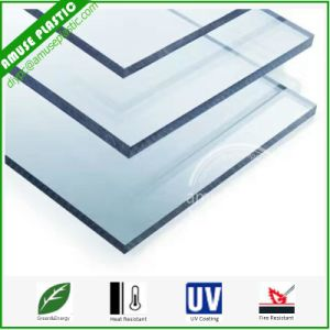 UV Protected Bayer Polycarbonate Transparent Unbreakable Glass Plastic PC Sheets pictures & photos