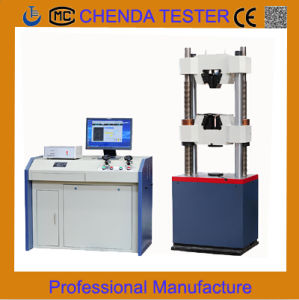 Waw-600b Computer Control Servo Hydraulic Universal Testing Machine Hydraulic Press Machine Tensile Strength Testing Machine pictures & photos