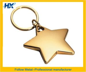 Key Ring with Star Logo