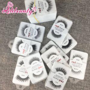 False Eyelashes Handmade Natural Long Thick Fur Eyelashes Soft Fake Eye Lash pictures & photos