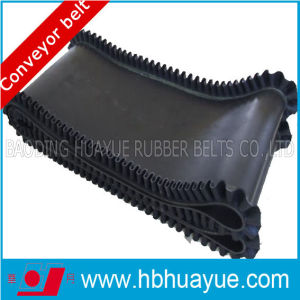 Corrugated Sidewall Rubber Conveyor Belt with Cleats pictures & photos