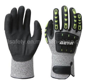 Anti-Impact Work Glove with TPR (TPR9004) pictures & photos