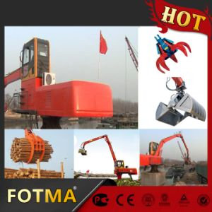 Timber Clamp Crane, Diesel Material Handling Equipment pictures & photos