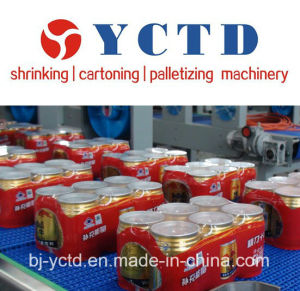 Automatic PE Film Wrapping Machine for Spring Water (YCTD-YCBS130) pictures & photos
