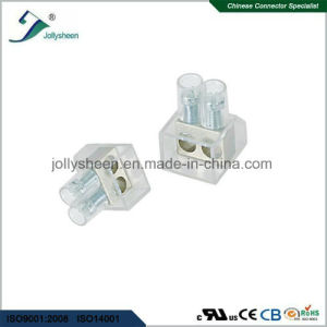 Screw Terminal Blocks Pitch 6.0mm Ru10 57A with Clear Grey Housing pictures & photos