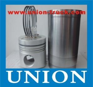Chinese OEM Quality Hino H07c Cylinder Liner Kit Including Piston Piston Ring and Liner for Truck Engine