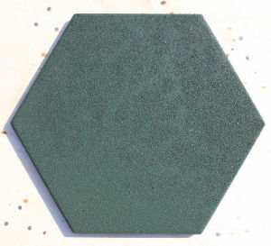Children Rubber Flooring Tile, Rubber Paver, Playground Rubber Flooring Tile pictures & photos
