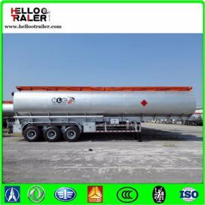 3 Axle 42000L Carbon Steel Diesel Tanker Semi Trailer pictures & photos