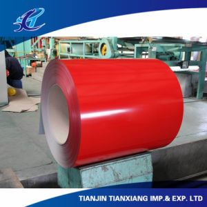 Ral3002 Roofing Material Color Coated Galvanized Steel Coil pictures & photos