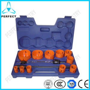 HSS Bi-Metal Hole Saw Set for Metal pictures & photos