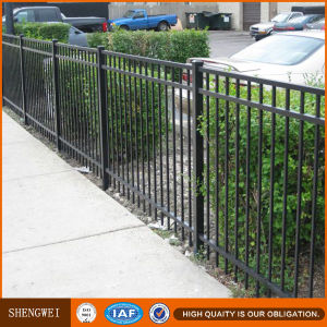 Powder Coted Welded Flat Top Fence Sw-302 China Supplier pictures & photos