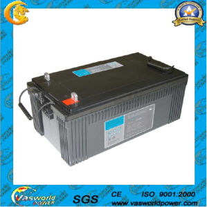 High Capacity Solar Battery with CE and ISO pictures & photos