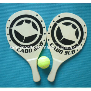 Hot Sell Made in China Promotion Beach Tennis Racket Set pictures & photos