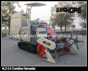 Double Thresher Cylinder Horizontal Axis Flow Rice Harvester pictures & photos