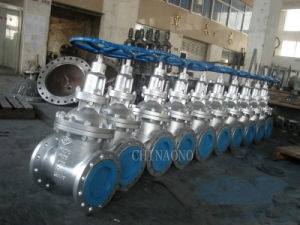 ANSI Stainless Steel or Carbon Steel CF8 or CF8m Gate Valve Flange Z41h pictures & photos