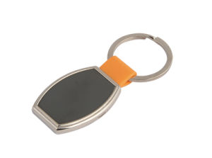 Promotional Gift Cusomized Size Metal Keyring with Logo (F1071A)