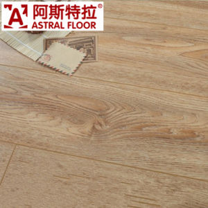 12mm Valinge Click Handscraped Grain Laminate Flooring (AS82001) pictures & photos