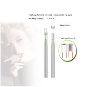 2017 New Wholesale Slim E Cigarette O-Pen 510 Buttonless Cartridge 0.5ml Disposable Vape Pen Ceramic Coil Glass Bbtank C1 pictures & photos