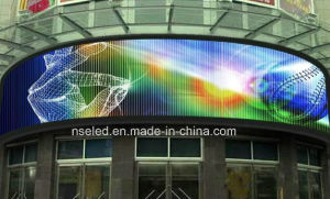 HD Slim Curved P10 Outdoor LED Display