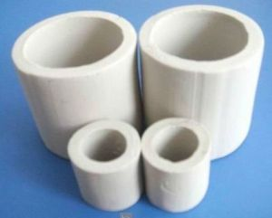 China Ceramic Rasching Ring Tower Packing For Absorption