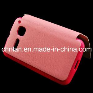 Unique Design Flip Leather Mobile Phone Cover Case for Alcatel Ot4030 S Pop
