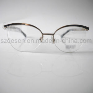 High Quality Fashionable Cat Eye Metal Eyewear Spectacle Frame pictures & photos