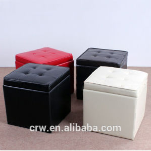 Colorful Folding Storage Ottoman pictures & photos