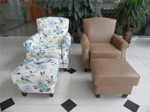 USA Deisgn Arm Chair with Fabric or PU pictures & photos