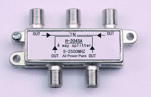 4way 5-2500MHz Smatv Splitter (SHJ-H204SA) pictures & photos