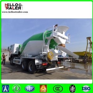 Sinotruk HOWO 6 X 4 8m3 Concrete Mixer Truck for Asia, South Ameria and Africa pictures & photos