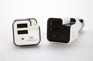 Auto Parts Dual USB Car Charger with Air Purifier pictures & photos