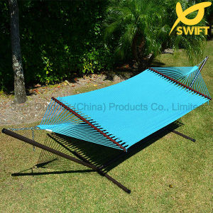 Luxury High Quality Nylon Rope Hammock pictures & photos