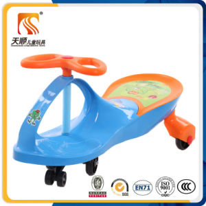 New Plastic Baby Toys Simple Design Easy Assembling Cheap Kids Swing Cars pictures & photos