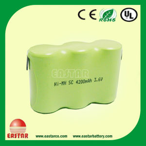 1.2V 4200mAh Sc NiMH Battery Pack for Walking Robot From China pictures & photos
