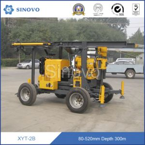 300m Trailer Mounted Mobile Water Well and Core Drilling Rig pictures & photos