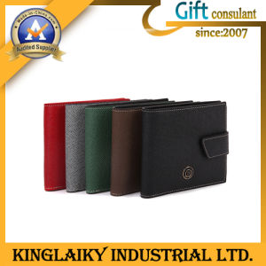 Promotional Fashion Wallet with Customized Embroidery Logo (KSM-002) pictures & photos