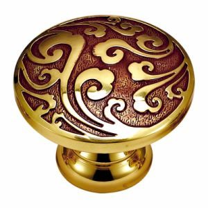 Solid Brass Wardrobe Knob and Pull Handle pictures & photos