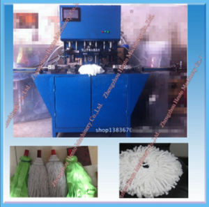Bilateral Four-Hole Cotton Yarn Mop Head Making Machine pictures & photos