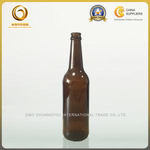 Emerald Green 500ml Beer Glass Bottle Pop Cap (586) pictures & photos