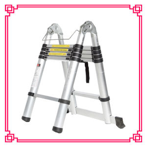En131 Multi-Purpose Telescopic Ladder Price pictures & photos