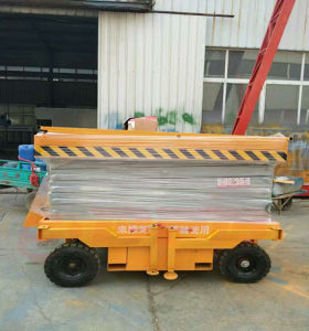 Electric Aerial Platform Lift/Scissors  Hydraulic  Lifting Platform pictures & photos