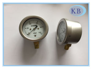 Capsule Gauge Gauge Snap in Plexiglass Dia. 63mm pictures & photos