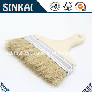 White China Bristle Chip Brushes with Wood Handle pictures & photos