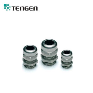 NPT Thread Cable Gland with Metal Hexagonal Lock Nuts IP68 Waterproof pictures & photos