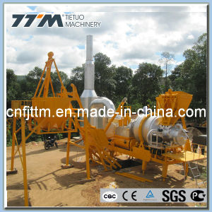 80tph Mobile Asphalt Mixing Plant, China Professional Manufacturer pictures & photos