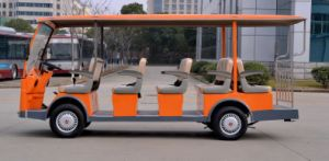 New China Cheap 14 Seats Electric Sightseeing Bus Tourist Bus Shuttle Bus