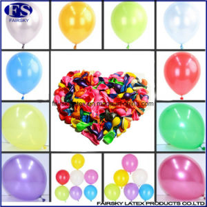 Custom Logo Party Decoration 1.5g Pearl Round Balloons pictures & photos