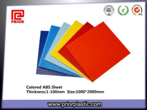 Colored ABS Plates for Thermoforming with SGS Certificate pictures & photos