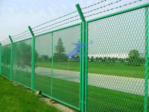 Expanded Wire Mesh Fence (factory) pictures & photos