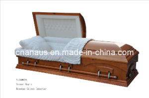 American Style Veneer Maple Casket (V10H0034) pictures & photos